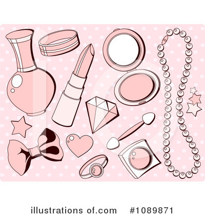 Royalty Free  Rf  Accessories Clipart Illustration By Pushkin   Stock