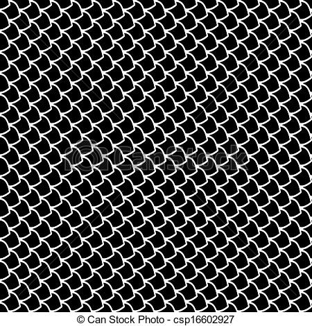 Seamless Fish Scales Texture Vector Art Csp16602927   Search Clipart