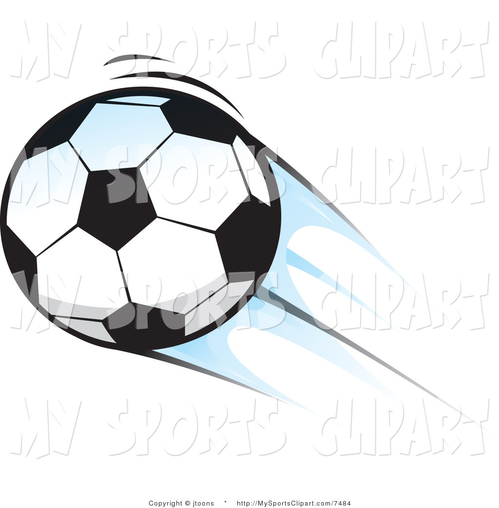 Soccer Ball Clip Art Sports Clip Art Of A Soccer Ball In The Air By