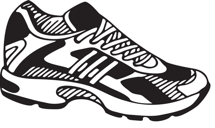 Clip Art Tennis Shoe Clip Art clip art tennis shoes clipart kid free cliparts that you can download to computer and