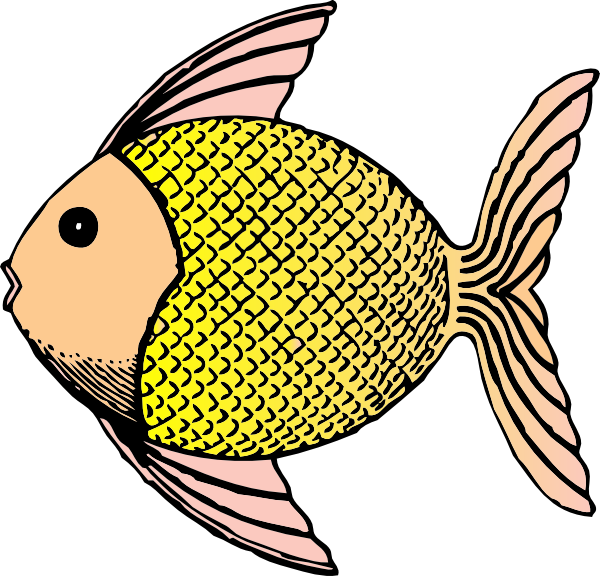 Tropical Fish Clip Art At Clker Com   Vector Clip Art Online Royalty