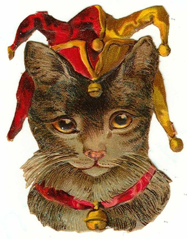 Vintage Holiday Crafts   Blog Archive   Free Vintage Cat Clip Art