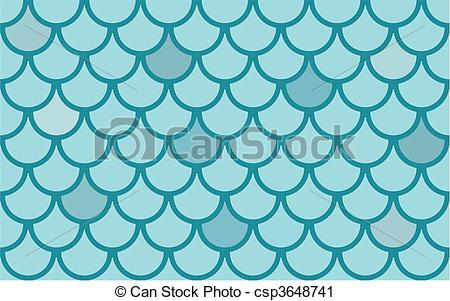With Fish Scales   Seamless Vector    Csp3648741   Search Clipart