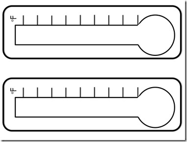 Thermometer Template 12 Blank Thermometer Template Free Cliparts That You Can Download To