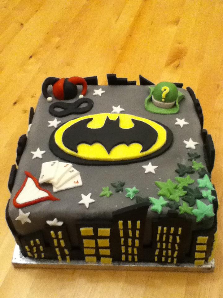 Batman Birthday Cake By Charley Blue