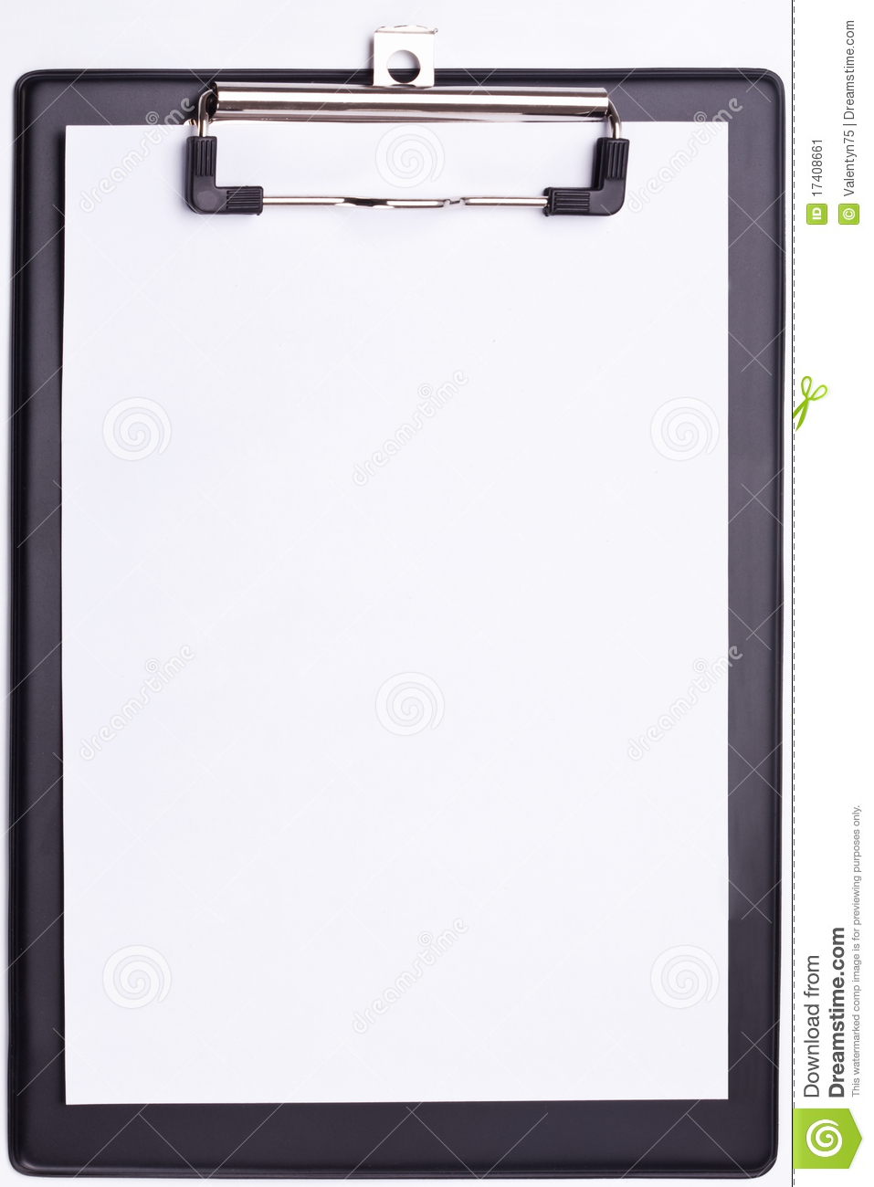 Black Clipboard  Stock Image   Image  17408661