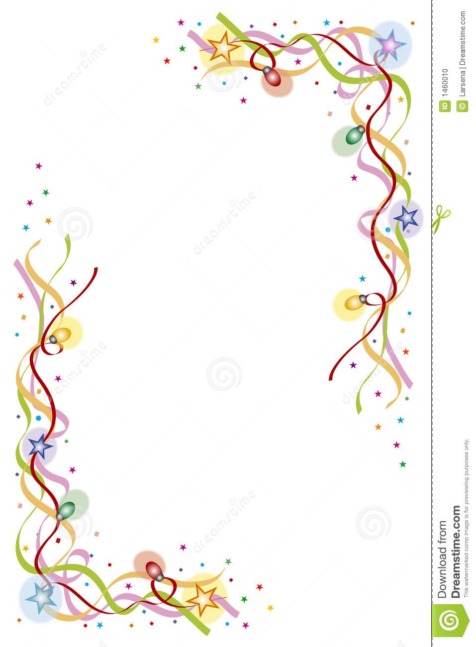 Celebration Border Clip Art Confetti border clipart - clipart kid