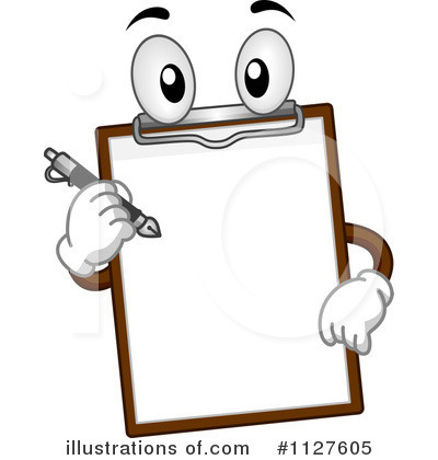 Clipboard Clipart  1127605   Illustration By Bnp Design Studio