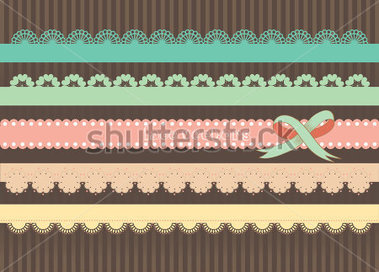 Download Source File Browse   The Arts   Colorful Lace Ribbon