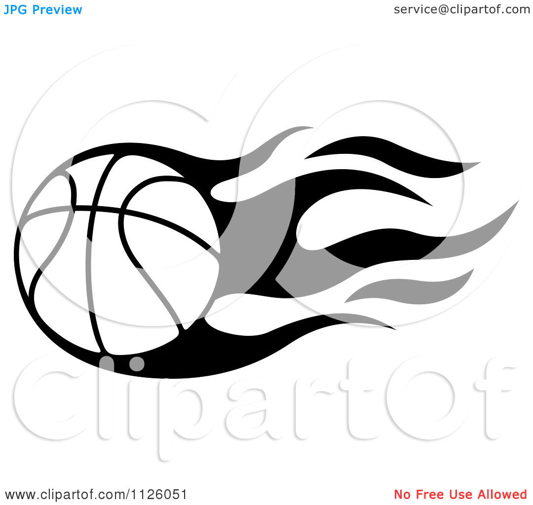 Girls Basketball Clipart Black And White Clipart Of A Black And White