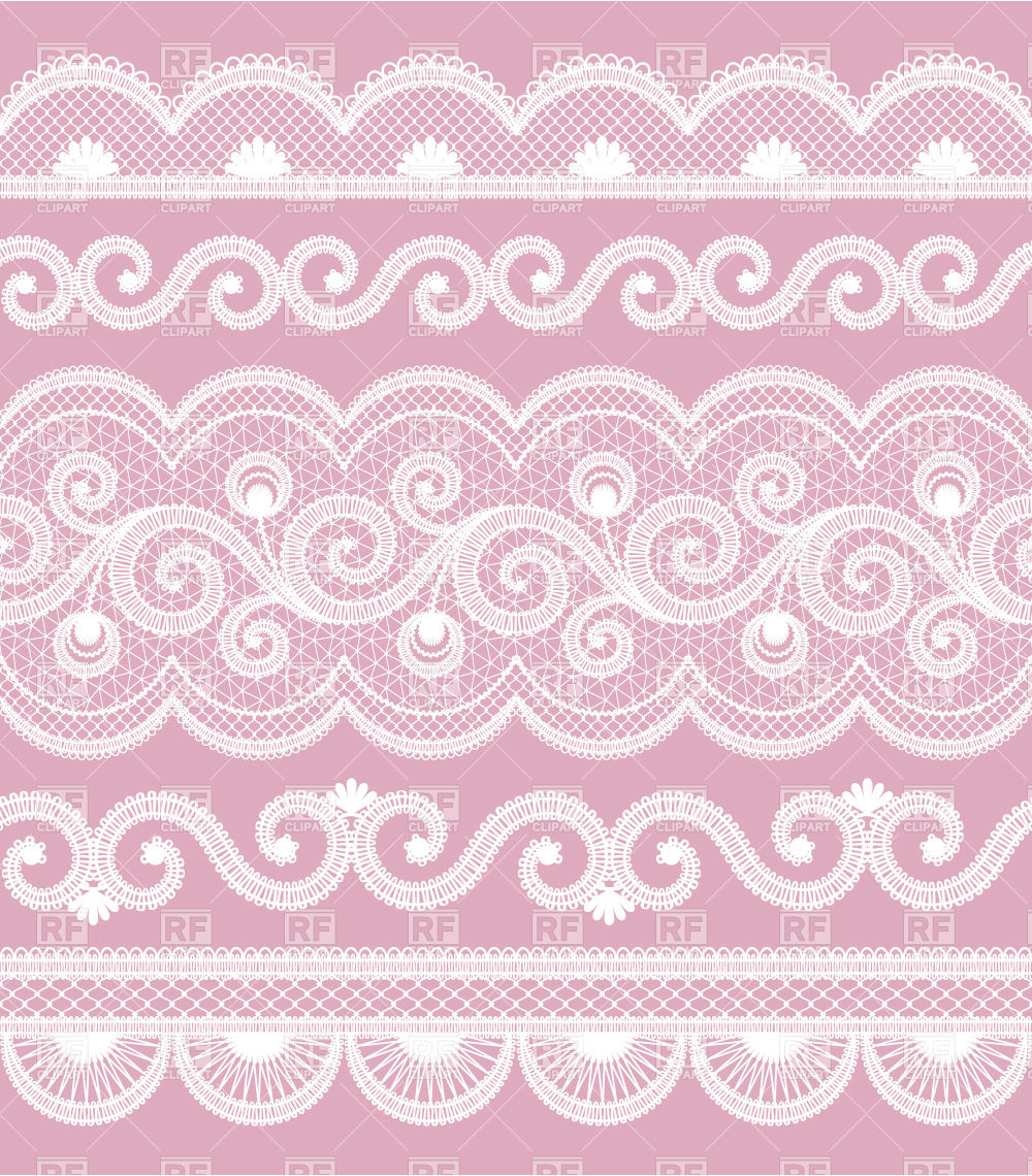 Lace Border Background Download Royalty Free Vector Clipart  Eps