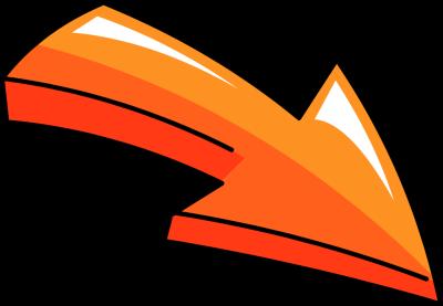 Clip Art Clip Art Arrows orange arrow clipart kid 3d head pricing free tags doodle usage to insert orange