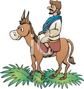 Riding A Mule Royalty Free Clipart Picture 090706 204274 328009 Jpg