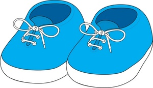 Shoes Clip Art Images Baby Shoes Stock Photos   Clipart Baby Shoes