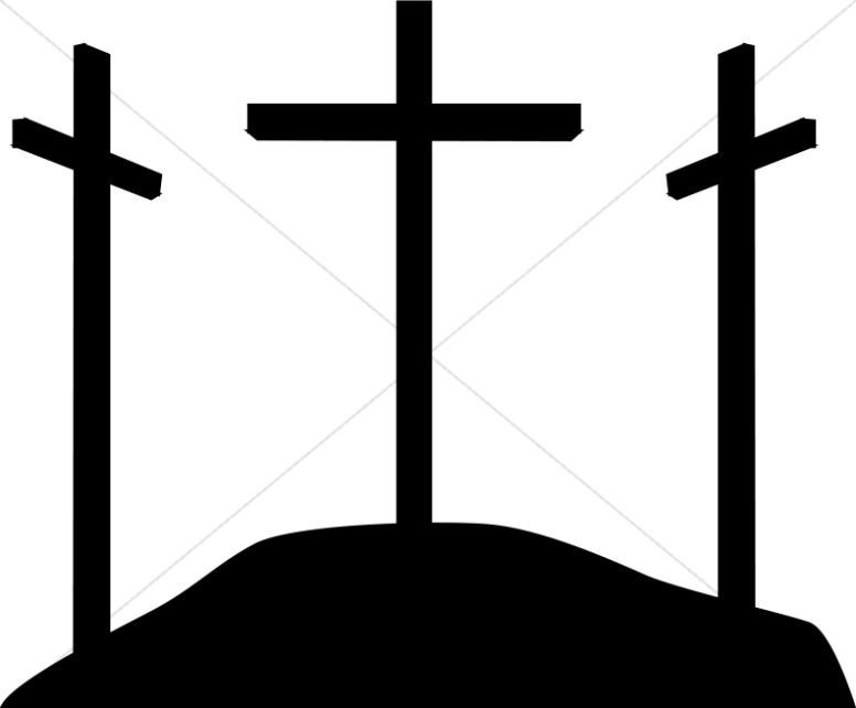 Cross Silhouette Clipart - Clipart Suggest