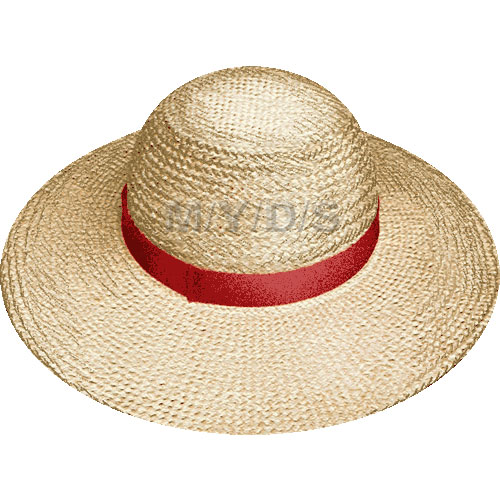 Straw Hat Clipart   Free Clip Art