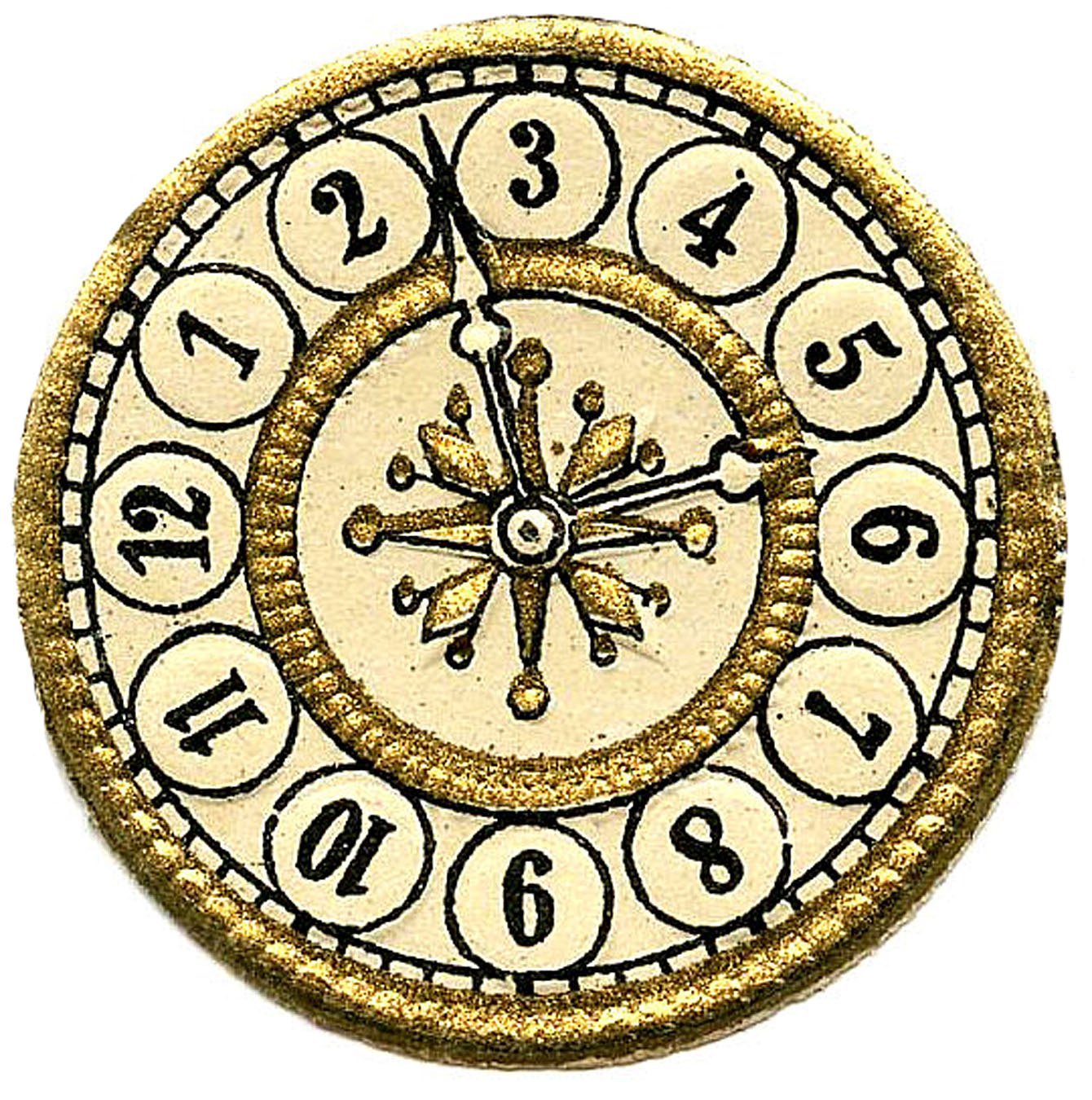 Vintage Clip Art   Scrap Clock Faces   Steampunk   The Graphics Fairy