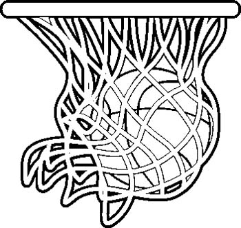 Girls Basketball Black And White Clipart - Clipart Kid