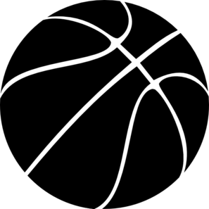 Black Basketball Clip Art At Clker Com   Vector Clip Art Online