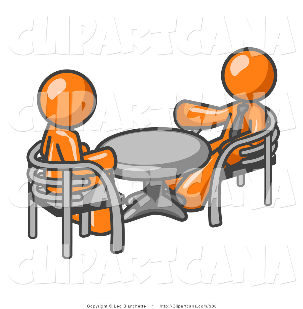 Business Meeting Clipart Vector Clip Art Of A Pair Of