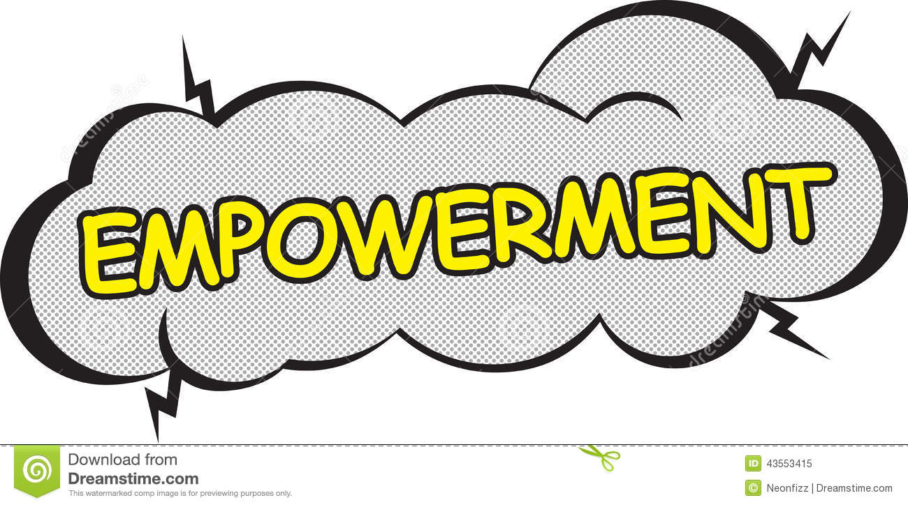 Corporate Power Word  Empowerment Stock Vector   Image  43553415