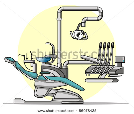 Dentist Chair Clipart Cartoon Dentist Chair   Stock
