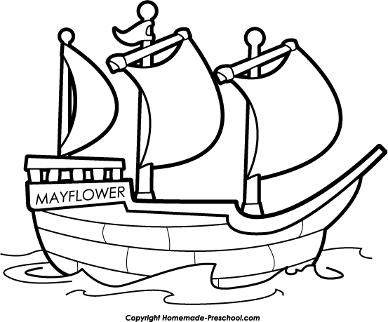 mayflower black and white clipart clipart suggest