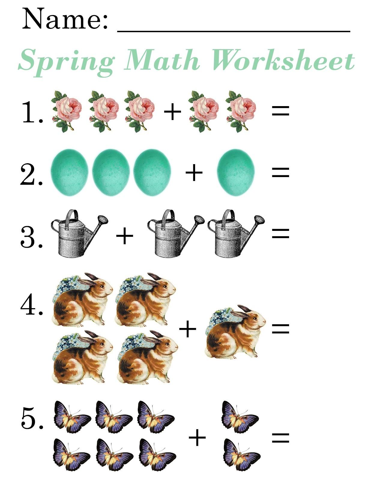 math worksheet : lilac lavender kids spring math worksheets  clipart kid : Math For Kids Worksheets