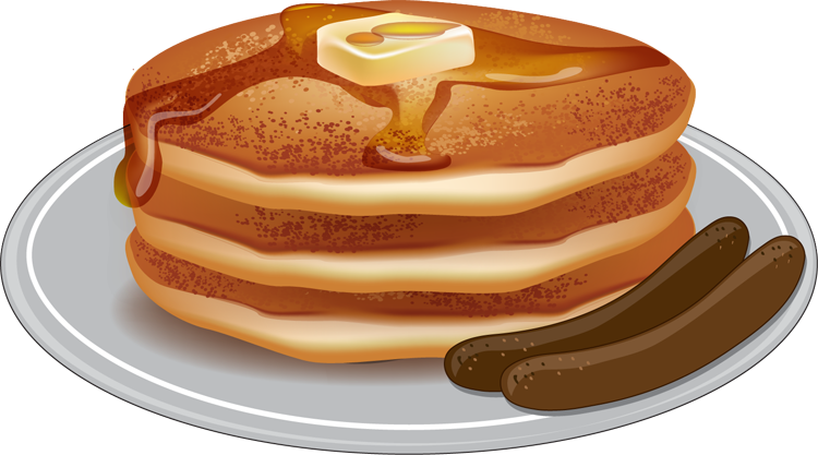 Sausage And Pancakes Clipart - Clipart Suggest