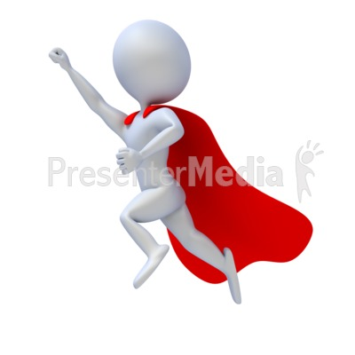 Superhero Flying   Education And School   Great Clipart For