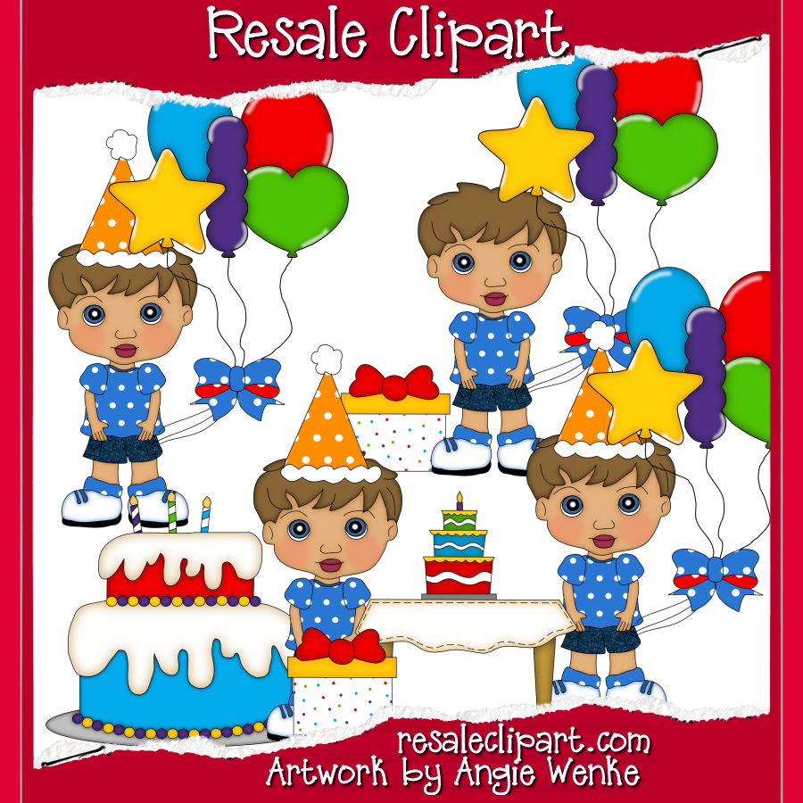 Brown Hair Clipart Birthday Boys With Brown Hair