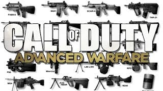 Call Of Duty Advanced Warfare   Les Armes Du Trailer  Cod Aw Guns