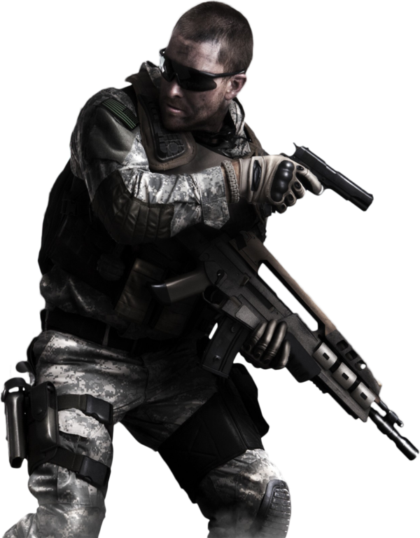 Call Of Duty   Ghosts Render By Ashish913 By Ashish Kumar On