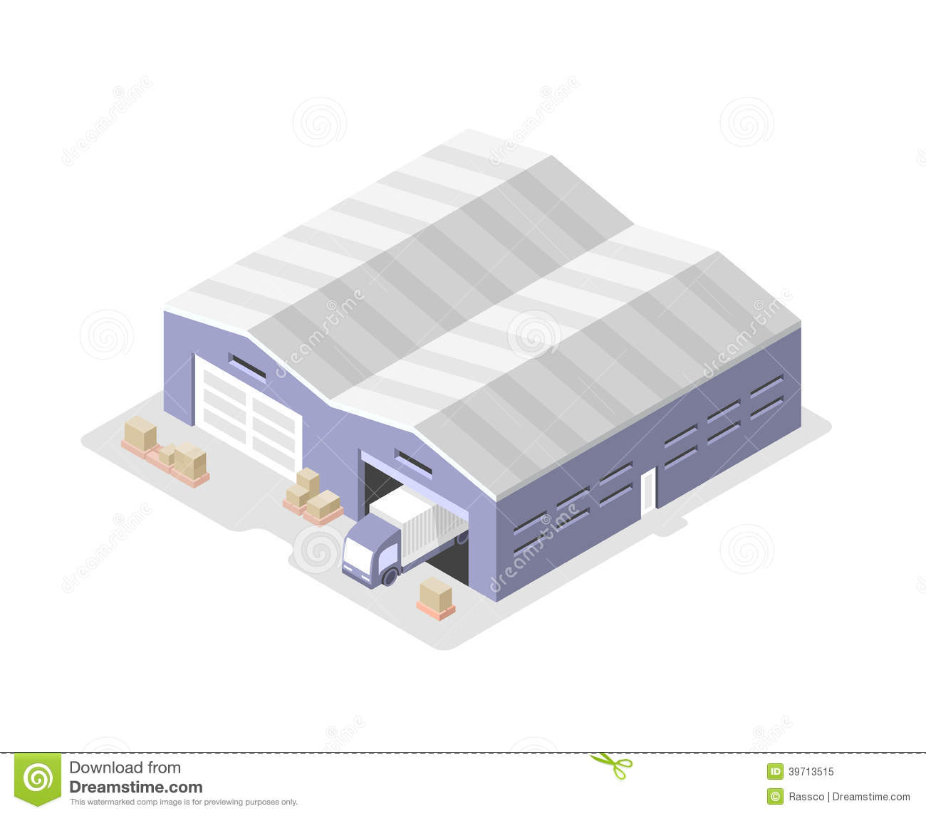Warehouse Clipart - Clipart Kid