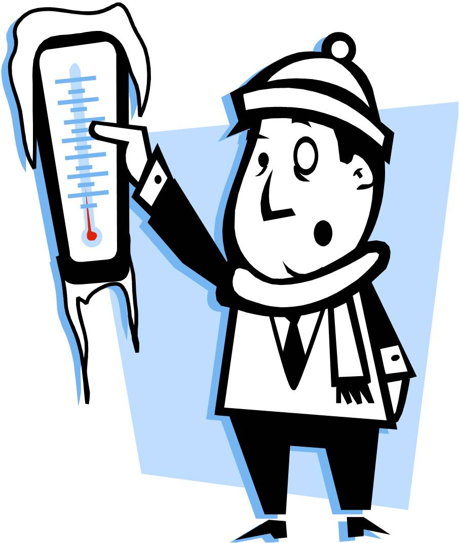 Frozen Thermometer Clip Art Freezing Cold Jpg