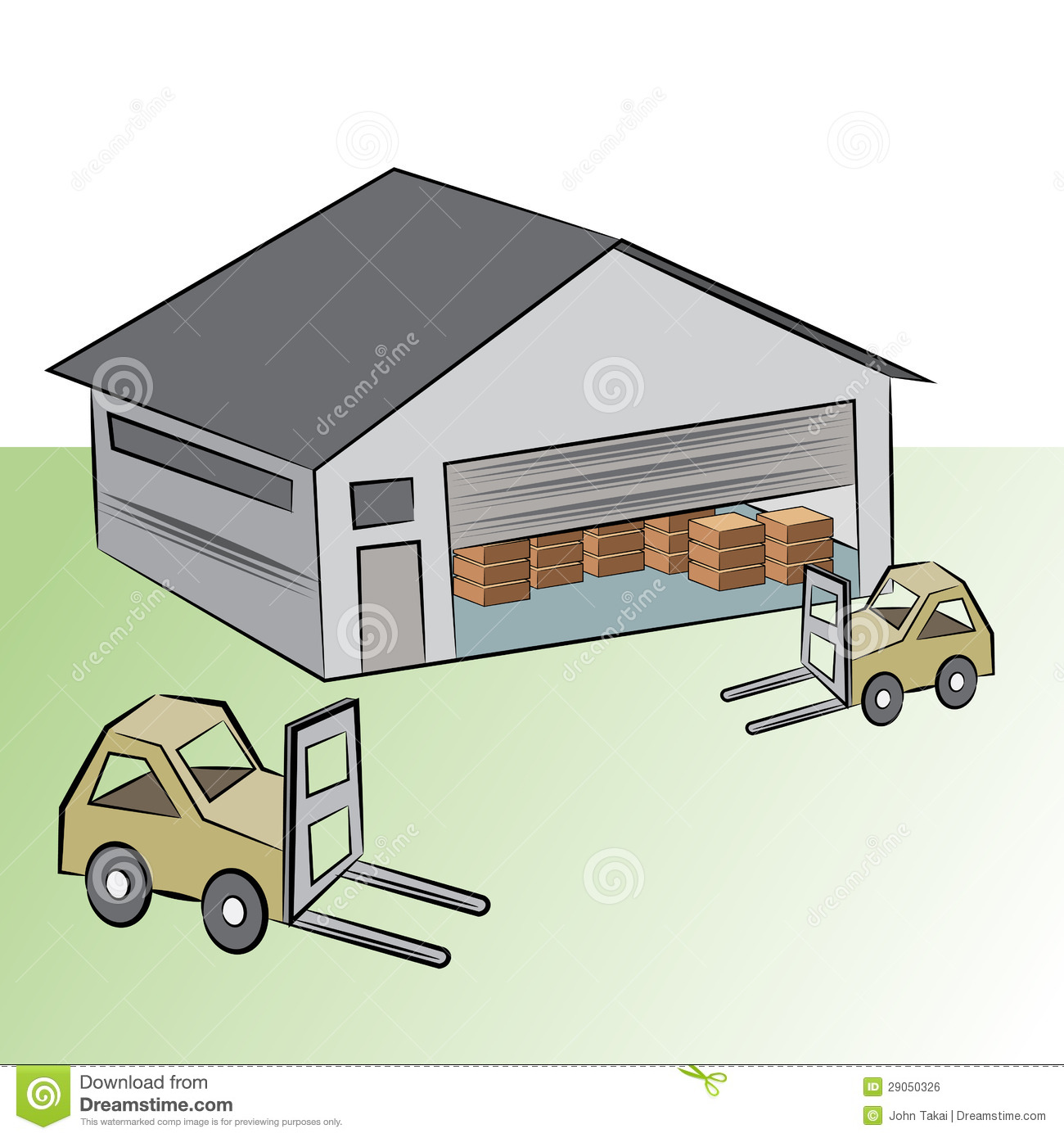 Gallery For   Distribution Warehouse Clip Art