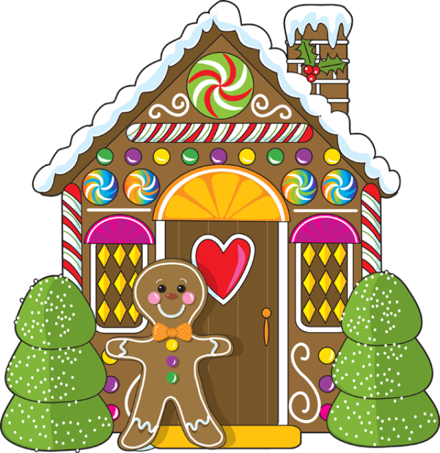 Gingerbread House Png   Dixie Allan