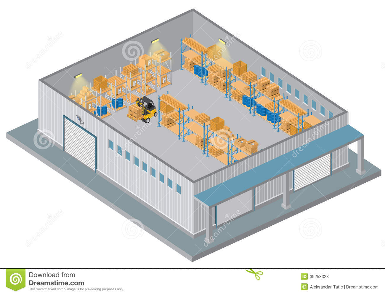 Distribution center clipart clipart suggest for Warehouse planning software free