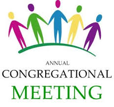 Lcgs Annual Congregational Meeting Will Be January 25 At 10 15 Am