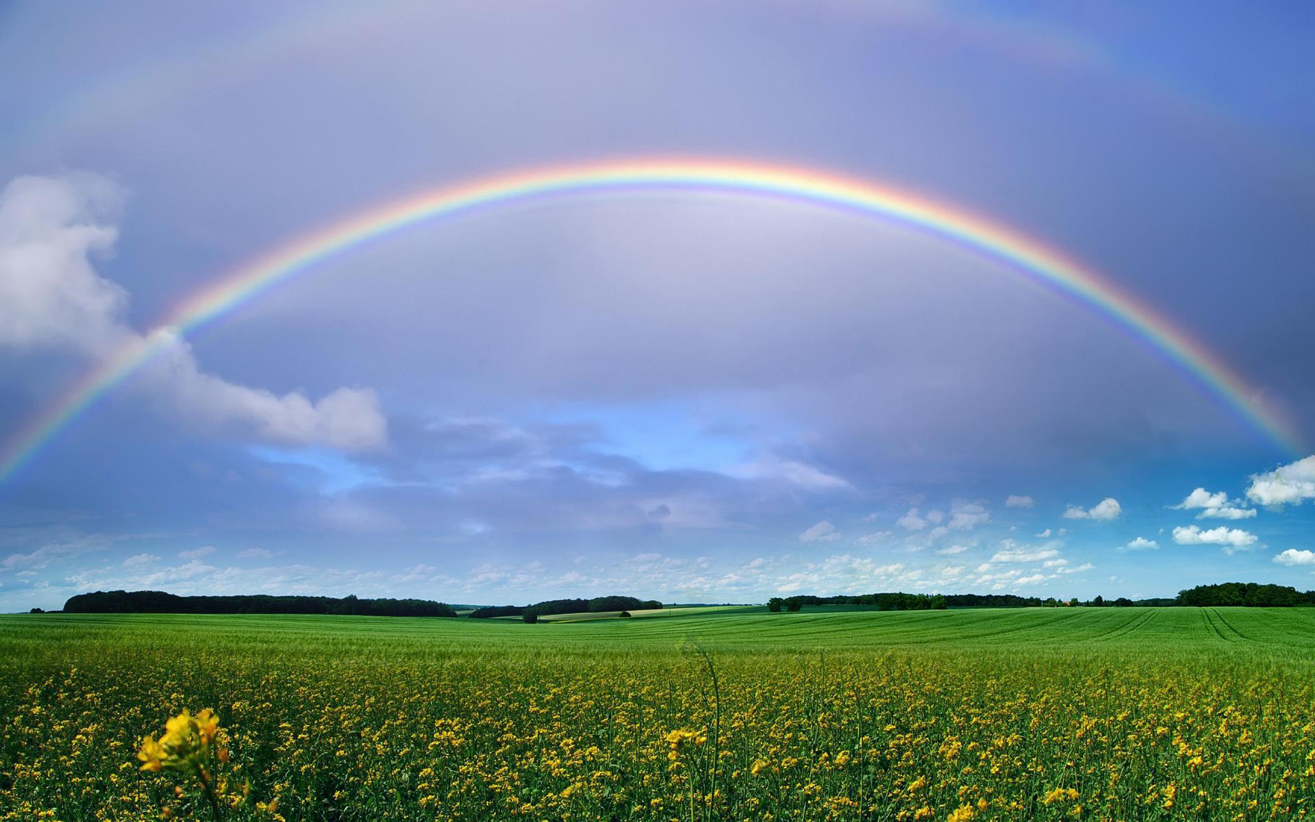 Real Rainbow Clipart Wallpaper Jpg