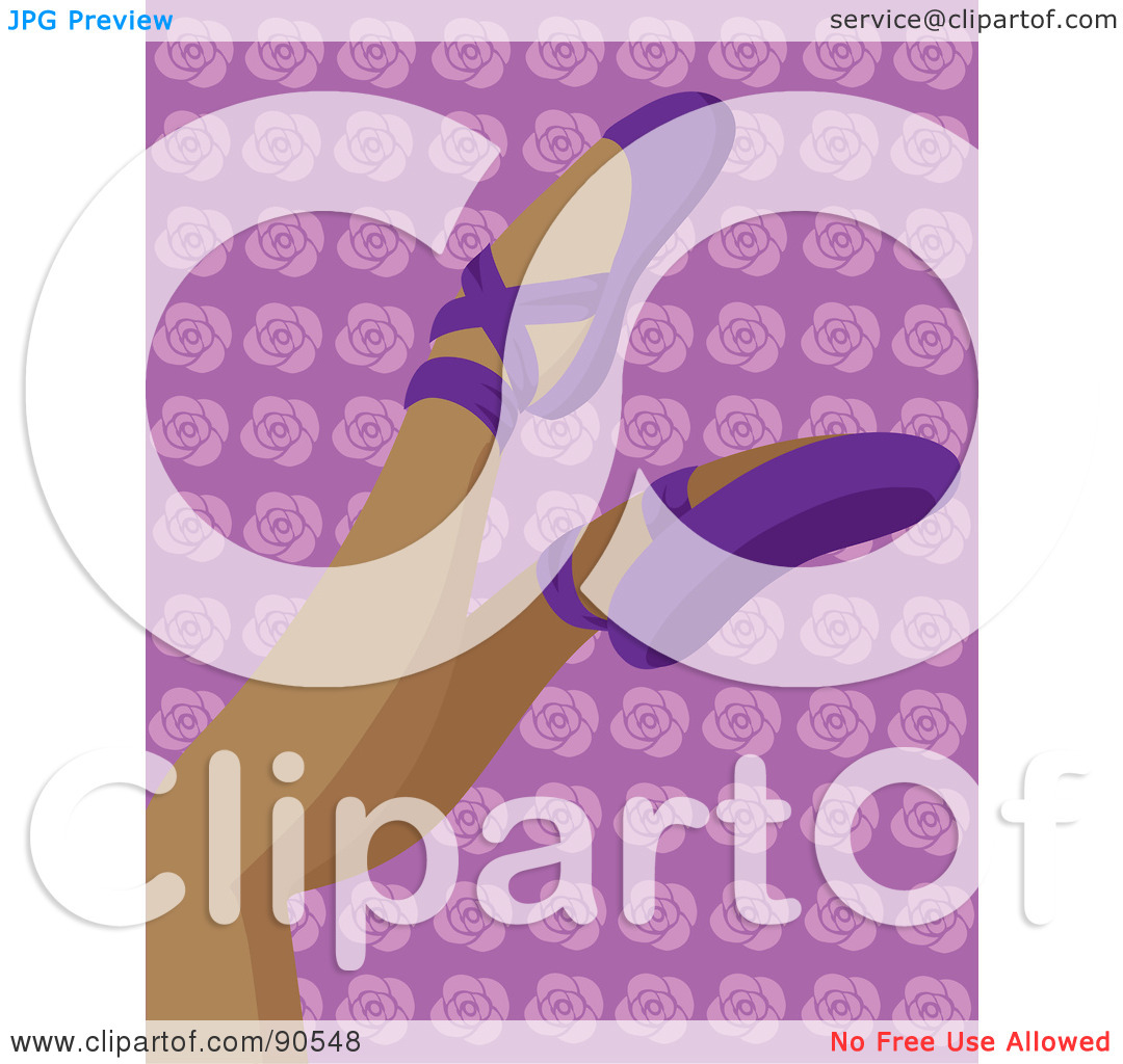 Royalty Free  Rf  Clipart Illustration Of A Hispanic Woman S Legs In