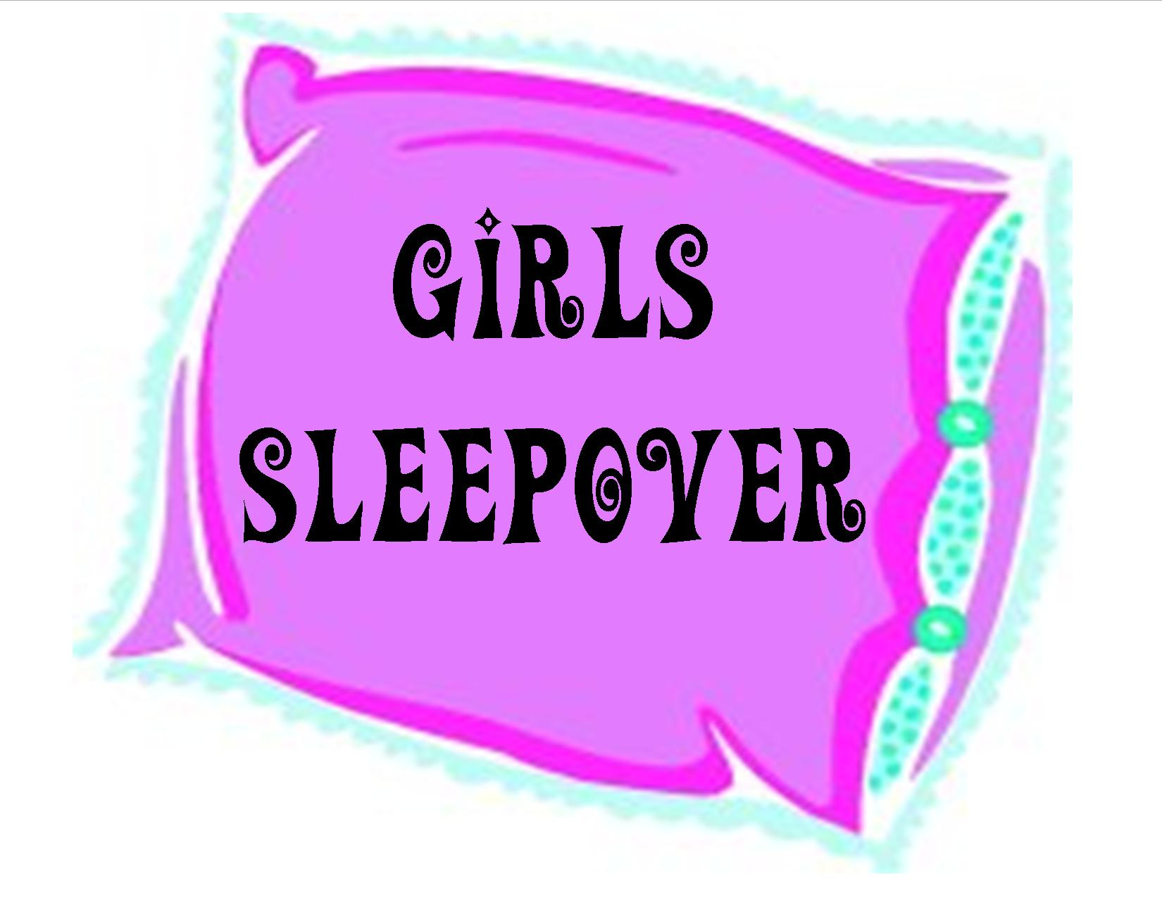 Sleep Over Girls Sleepover Graphic