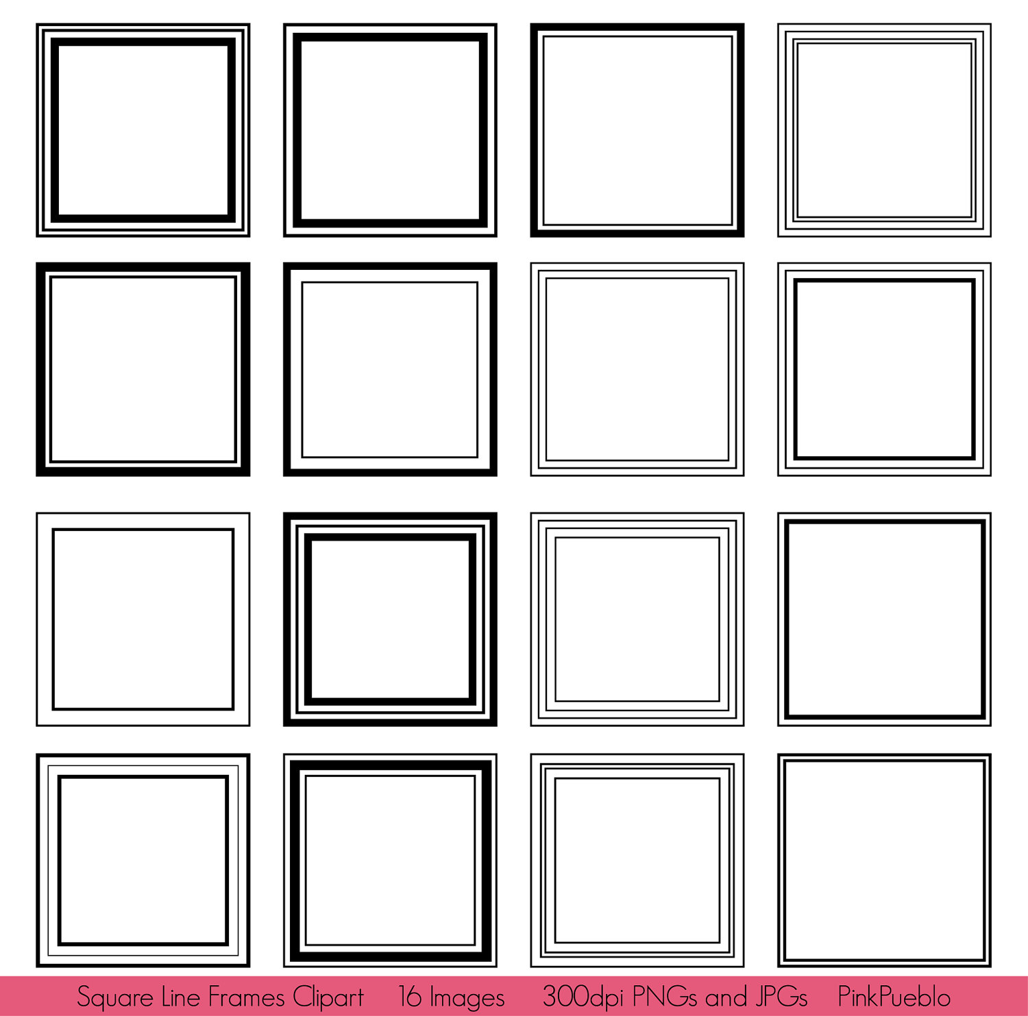 square frame clipart clipart panda free clipart images