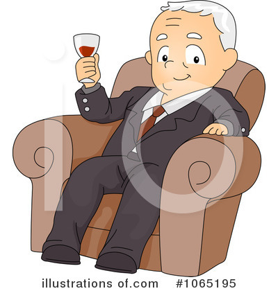 African American Male Retirement Clip Art