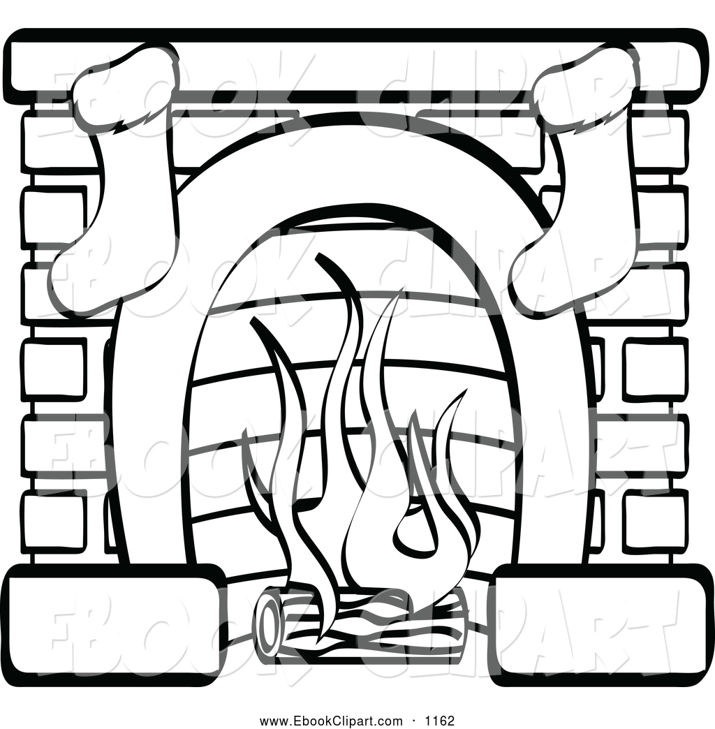 clipart fireplace - photo #50