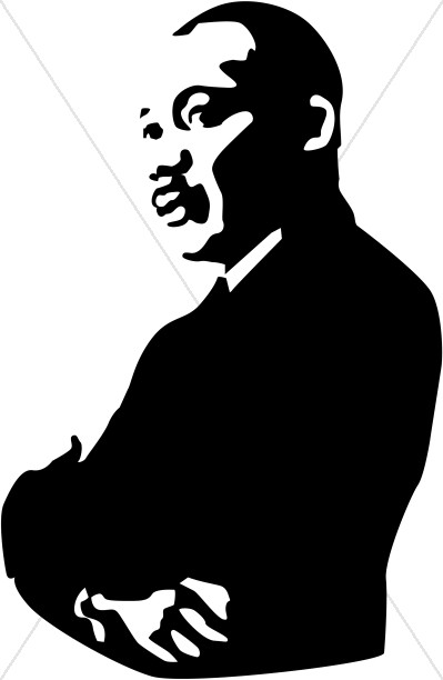 Clip Art Martin Luther King Clipart martin luther king junior clipart kid black history month program cover clipart
