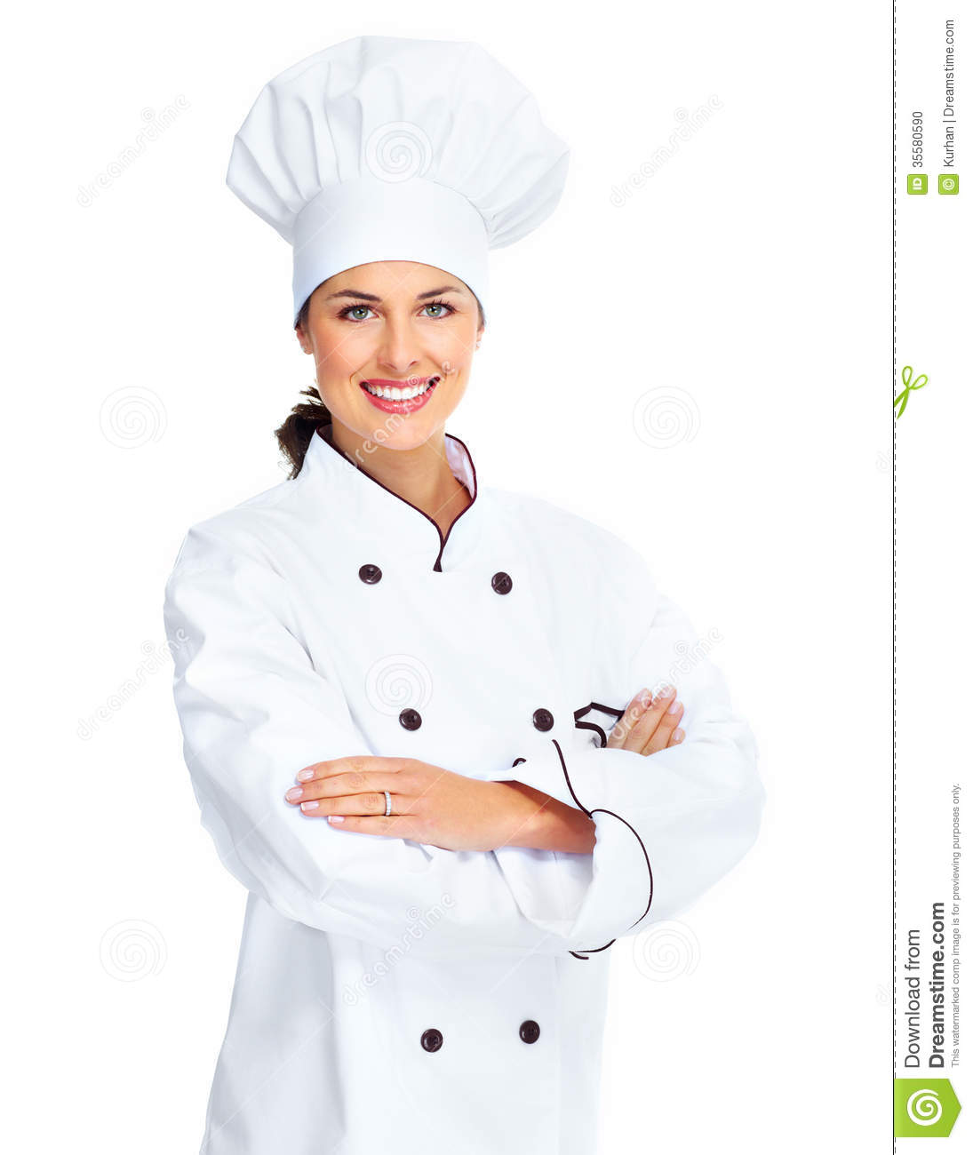 Chef Woman Clipart Chef Woman