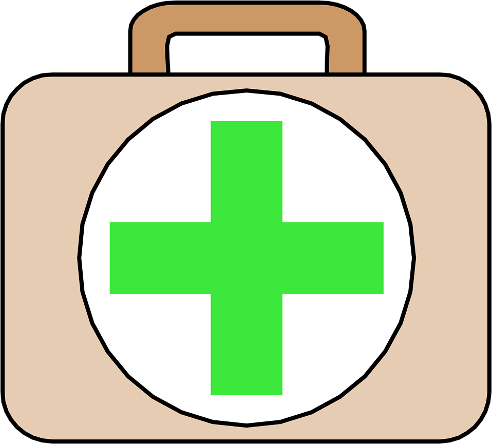 First Aid   Free Stock Photo   Illustration Of A First Aid Kit