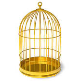 Golden Cage   Clipart Graphic