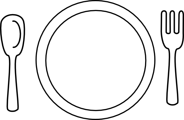 Empty Plate Clipart - Clipart Suggest